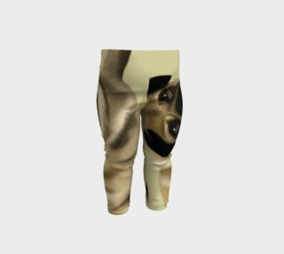 Pug Love Baby Leggings preview