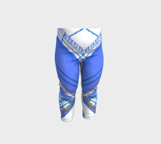 Sailing blue baby leggings preview