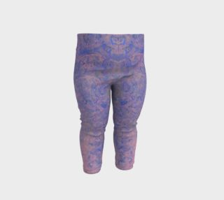 Pink and Blue Patterned Baby Leggings preview