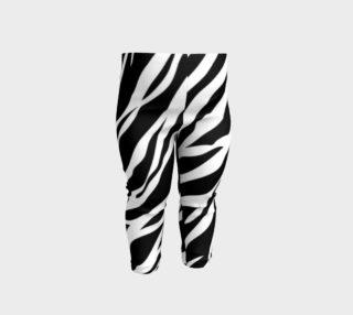 Aperçu de Baby Leggings Zebra Stripe