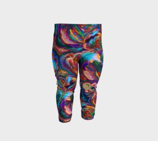 Aperçu de Paint Swirl Baby Leggings