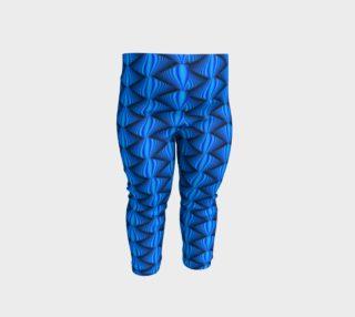 Aperçu de Blue Scale design Baby Leggings