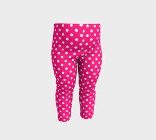 Aperçu de Pink Polka Dot baby Leggings
