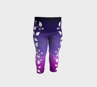 Wild Vine - Amethyst Ombre Baby Leggings preview