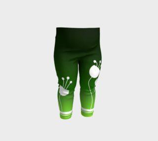Magic Garden Emerald Ombre Baby Leggings preview