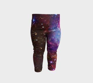 Fox Fur Nebula Baby Leggings preview