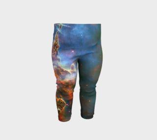 Mystic Nebula Baby Leggings preview