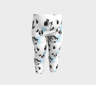Blue Moon Cats baby leggings preview