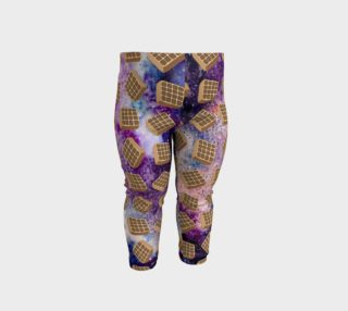 Space Waffle Baby Leggings preview
