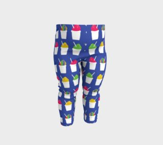 Snowball Leggings- Royal Blue (Baby/Kids) preview