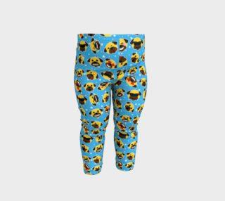 Aperçu de Pug Emoji Emoticon Baby Leggings