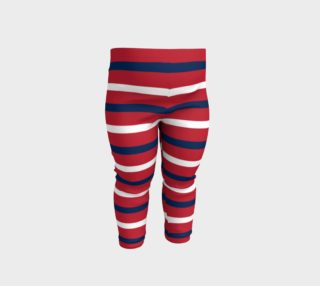Red White and Blue Horizontal Stripes preview