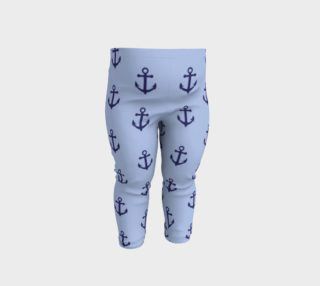 Aperçu de Anchors - Dark Blue Anchors on Light Blue Bg