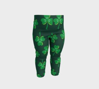 St. Patrick's Day Clover - Dark Green preview