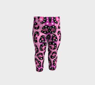 Hot Pink Cheetah Print Baby Toddler Leggings  preview
