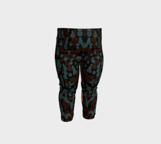 Abstract Animal Print Baby Leggings  preview