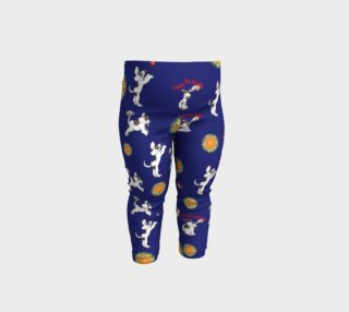 Aperçu de Puppy and the Firefly - Navy Blue