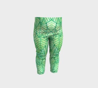 Green foliage Baby Leggings preview