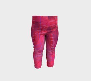 Aperçu de Pink Doodles Baby Leggings