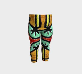 Colorful Tribal Geometric Pattern Baby Leggings preview