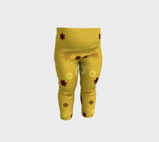Abstract Geometric Shapes Baby Leggings preview