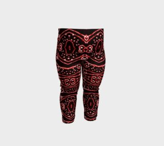 Tribal Ornate Geometric Pattern Baby Leggings preview