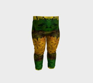 Tribal Floral Pattern Baby Print Leggings aperçu