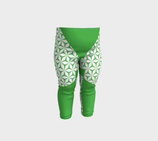 green block baby leggings preview