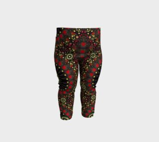 Digital Abstract Geometric Pattern Baby Leggings preview