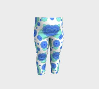 Retro Style Decorative Abstract Pattern Baby Leggings preview