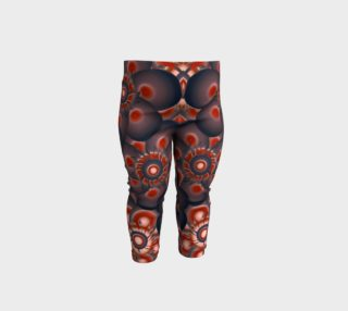 Modern Floral Decorative Pattern Print Baby Leggings preview