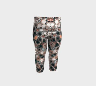 Modern Arabesque Pattern Printed Baby Leggings preview