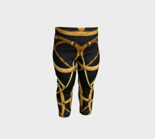 Futuristic Ornament Decorative Print Baby Leggings preview