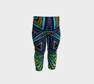 Tribal Style Colorful Geometric Pattern Baby Leggings preview