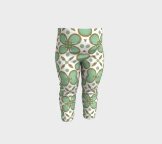 Luxury Decorative Pattern Collage Baby Leggings preview