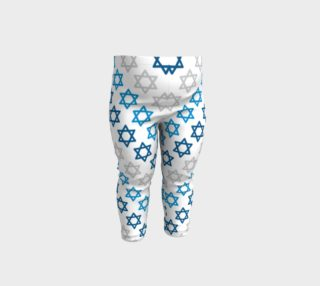 Aperçu de Star of David Hanukkah Leggings