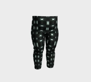 Futuristic Dark Pattern Baby Leggings preview