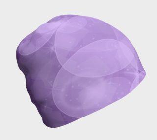 Purple Bubbles Beanie preview