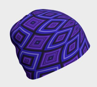 Purple Kaleidoscope Beanie preview