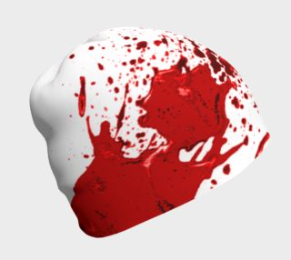 Blood Splatter One Beanie preview