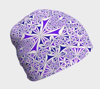 Purple Tile Beanie preview