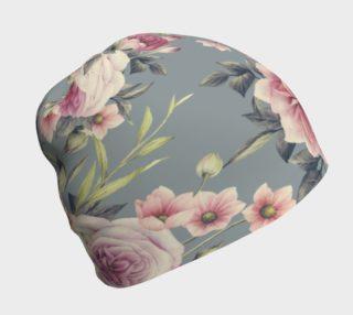 Aperçu de Floral Beanie Cap