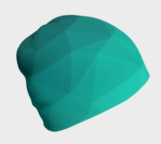 Green Low Poly Beanie preview