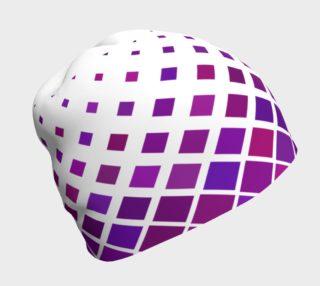 Aperçu de Purple Diamonds Beanie