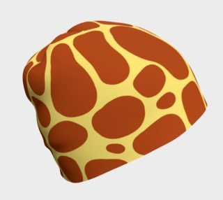 Aperçu de Giraffe Print Pattern Beanie