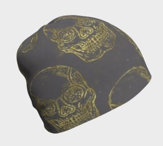 Golden Skulls Beanie preview