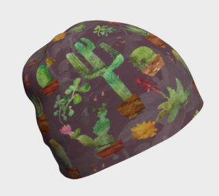 Aperçu de cactus watercolor