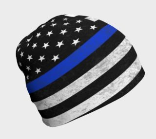 Thin Blue Line Beanie preview