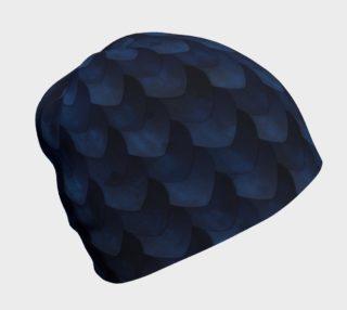 Aperçu de Blue Dragon Scale Beanie
