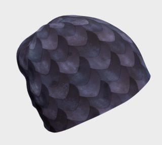 Aperçu de Purple Dragon Scale Beanie